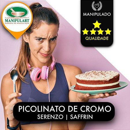PICOLINATO DE CROMO | SERENZO  | SAFFRIN  |  INIBIDOR DE DOCES