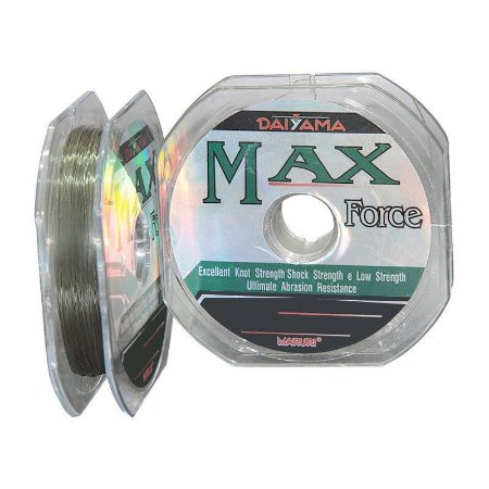 Linha De Pesca Max Force - 0,43mm Mono - 100m