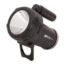 Lanterna Nautika Tocha Jasper LED Recarregável Preto