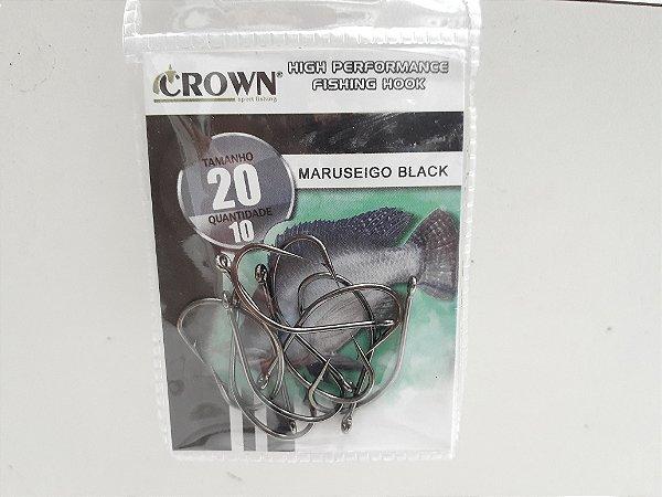 ANZOL CROWN MARUSEIGO BLACK 20 C10