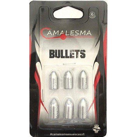 Chumbo Bullet Camalesma 3/5gr. 6un.