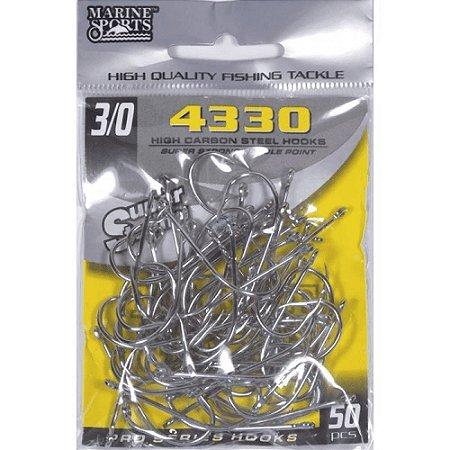 ANZOL MARINE SPORTS 4330 N. 3/0 C/50 SUPER STRONG