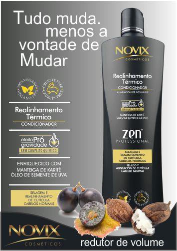 REDUTOR DE VOLUME ZEN 500ML - COM OLEO DE SEMENTE DE UVA