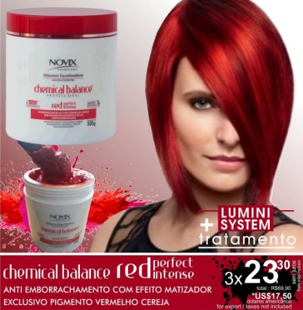 MASCARA ANTI EMBORRACHAMENTO MATIZADORA RED 500G