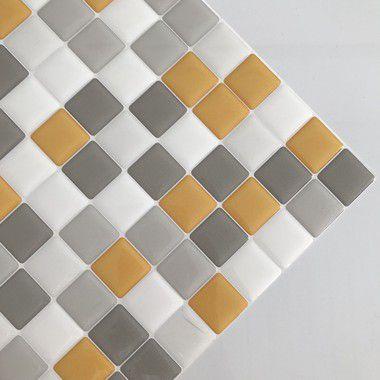 Pastilha Adesiva Resinada PRIMAVERA NOS ALPES 28 x 28 cm