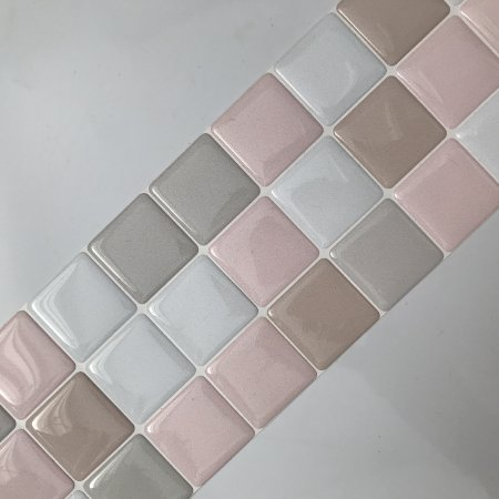 Pastilha Adesiva Resinada BLOSSOM 28 x 9 cm