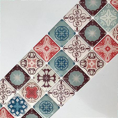 Pastilha Adesiva Resinada VINTAGE PORTO 28 x 9 cm
