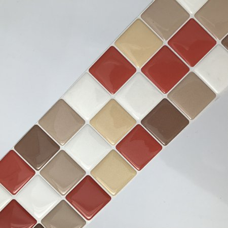 Pastilha Adesiva Resinada AÇUCAR MASCAVO 28 x 9 cm