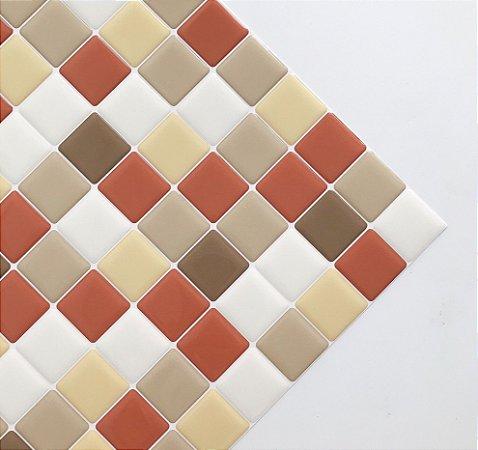 Pastilha Adesiva Resinada AÇUCAR MASCAVO 20 x 20 cm
