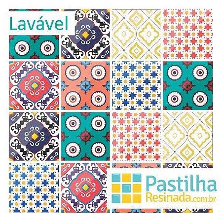 Azulejo Adesivo Frida Kit 18 peças