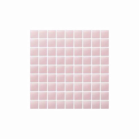 Pastilha Adesiva Resinada Rosa Millennial 20 x 20 cm