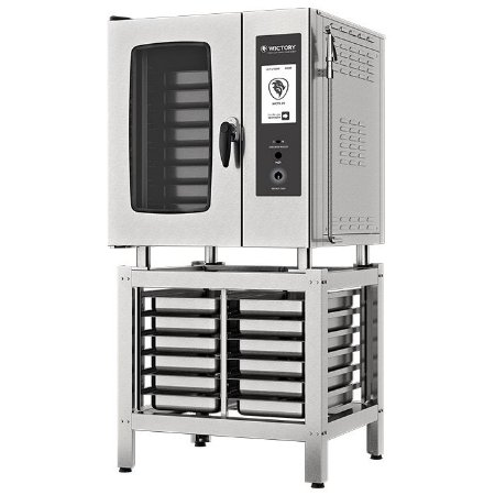 Forno Combinado Touch Screen Wictory 8 Gn's 1/1 -  WCTS-08 Elétrico