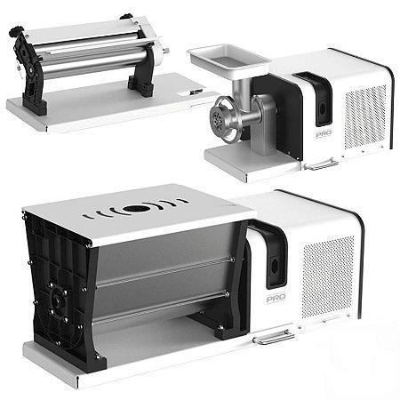 Maquina para Macarrão Anodilar Kit Supermix Pro 5 Funções