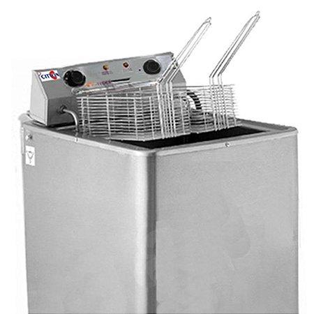 Fritadeira Elétrica Água e Óleo 2 Cestos 8500W - FAO-3000