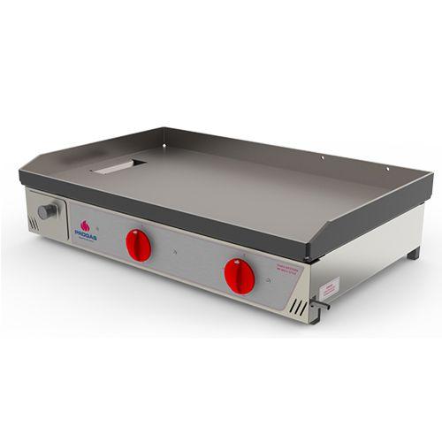 Chapa Bifeteira PR-800G Progás Gás Industrial 2 Queimadores