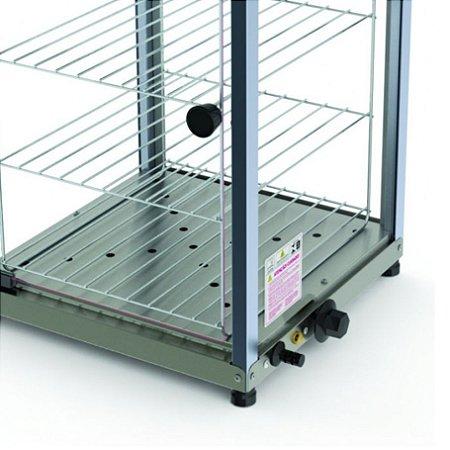 Estufa Expositora para Salgados Vertical 4 Andares PR-640E