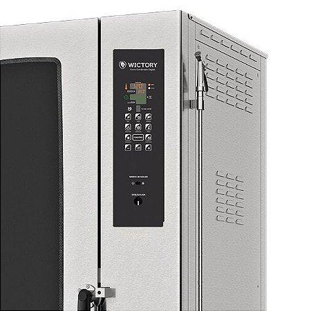 Forno Combinado Digital Wictory 40 Gn's 1/1 -  WCAA-40 Elétrico