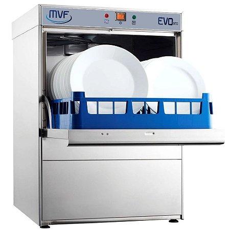 Lavadora de Louça Industrial MVT EVO Trifásica 380V - BÔNUS GRÁTIS 3 Racks MULTIUSO