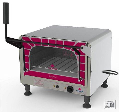 Forno Elétrico Refratário Mini Chef PRPE-400 STYLE 40 Litros com Pedra