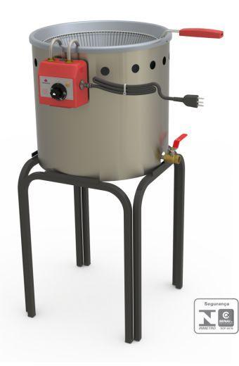 Fritador Tacho Água e Óleo 12 litros PR-90E Style Progás