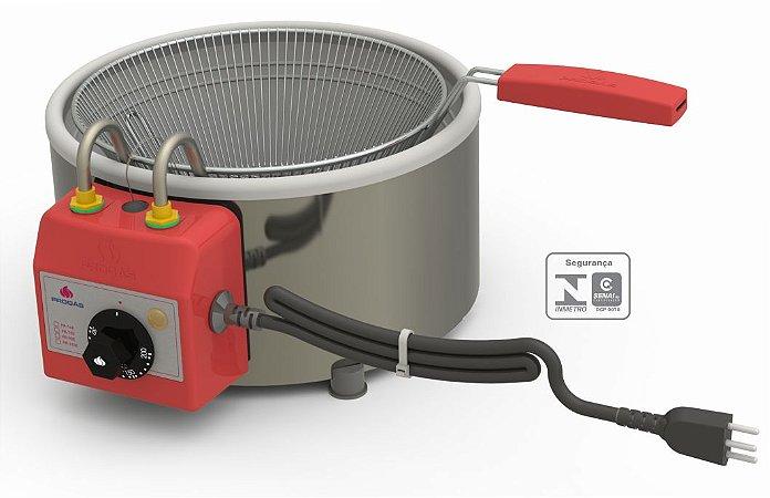 Tacho para Frituras Pasteleiro - 3L Aço Inox Progás PR-310E