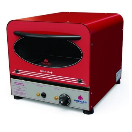 Forno Elétrico Refratário Mini Chef Little Chef PRPE-200 Inox 25 Litros com Pedra