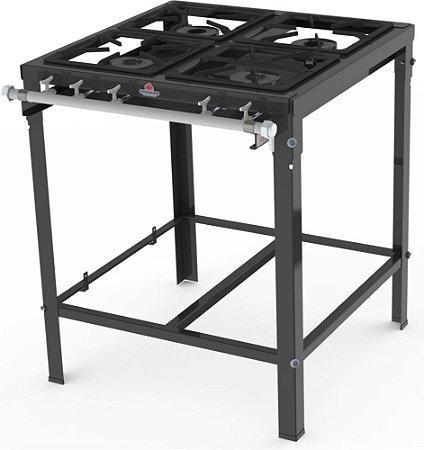 Fogão Industrial 4 Queimador Simples PMS-400 Progás