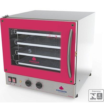 Forno Turbo Elétrico Fast Oven PRP-004 G2 Vermelho Seminovo
