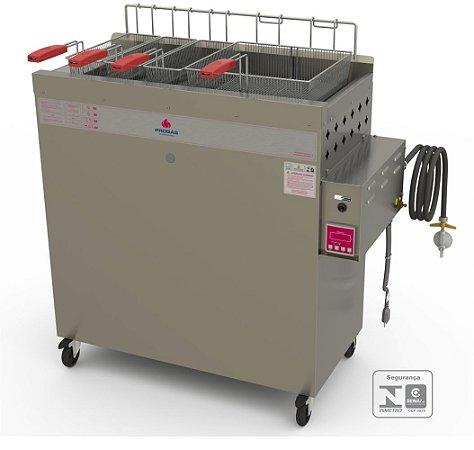 Fritadeira A Gás Baixa Pressão PR-3000 BPAT Progás Seminova