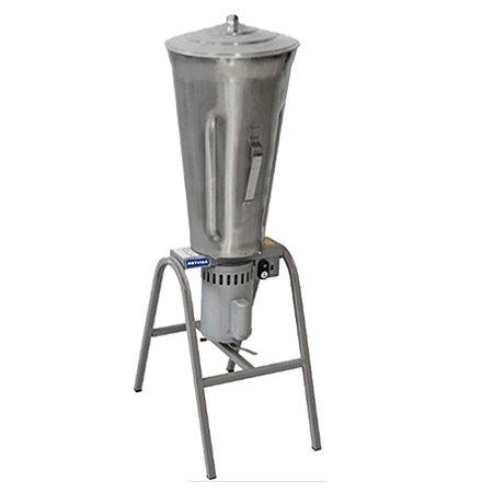 Liquidificador Industrial Metvisa 25 Litros Baixa Rotação Copo de Inox