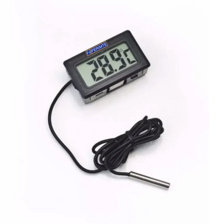 Termômetro Digital P/ Freezer e Geladeira Te0402 com fio