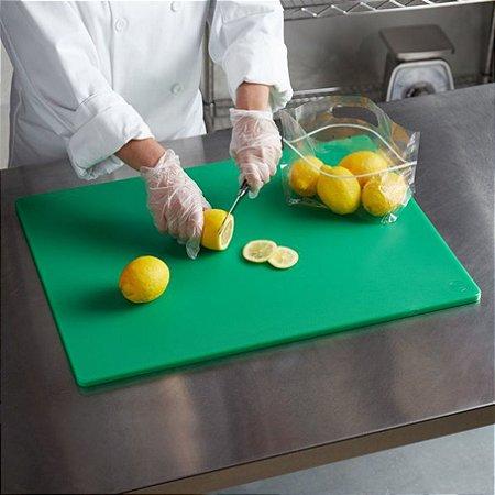 Tábua Placa De Polietileno Para Cozinha Churrasco 40x30 Cm
