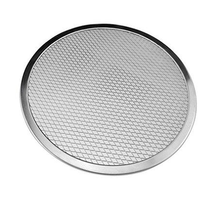 Tela para pizza 30 cm Alumínio Redonda TE-04