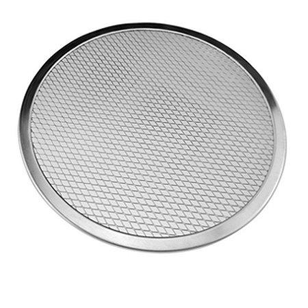 Tela para pizza 35 cm Alumínio Redonda TE-05