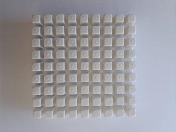 Macho 10 mm Plástico Cortador de Legumes Vitalex