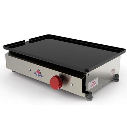 Chapa Bifeteira Gás Industrial 1 queimador - PR-450G Progás