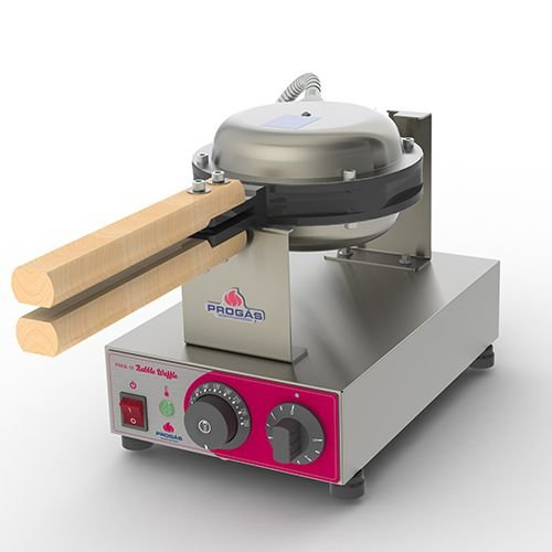 Máquina de  Bubble Waffle recheado - Prógas PRKB-10 - 220V