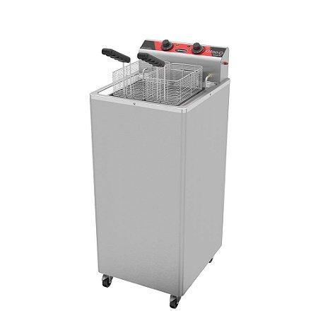 Fritadeira Elétrica Água E Óleo Metalcubas Gfao-30 8000 W