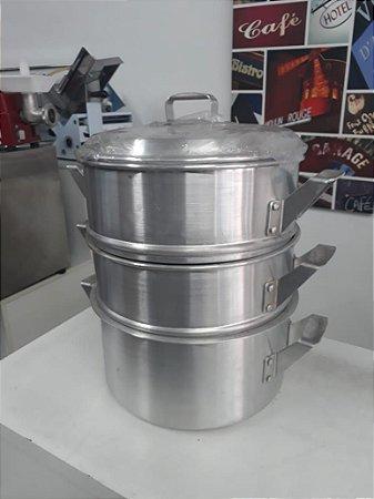 Panela para Cozimento a Vapor 36x3 Acasa - MetalTech