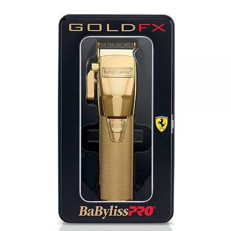 Máquina de Corte BabyLiss Pro GoldFX - By Roger