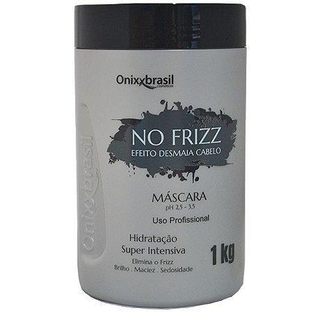 Máscara No Frizz -1kg   com efeito Desmaia Cabelo ultra hidratante de ação imediata.