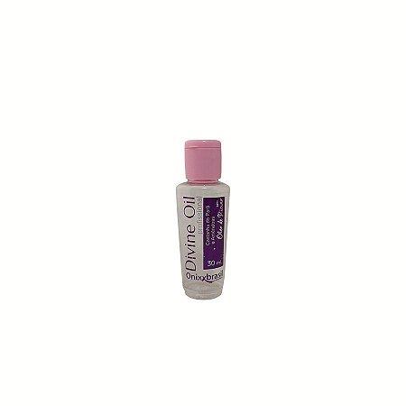 Divine Oil - 30 ml, Anti Oxidante nutritivo reposição natural de oleosidade sem deixar peso, protege os fios, doa brilho e repara pontas duplas.