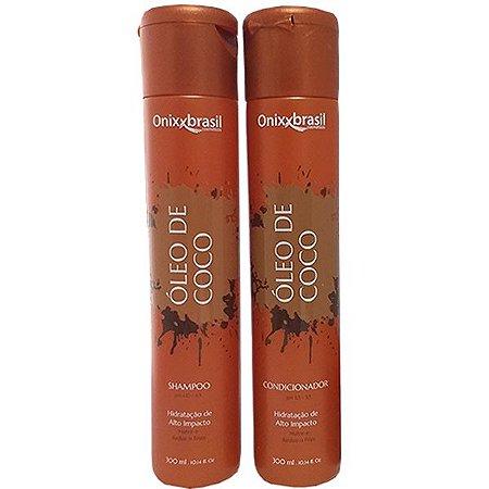 Oléo de Coco - Shampoo + Condicionador - alto poder de hidratação