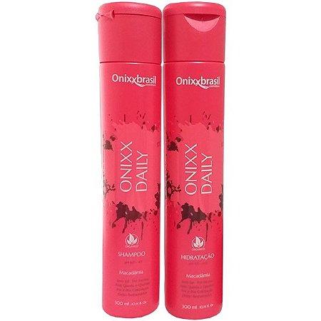 Onixx Daily 300ml - Shampoo + Hidratação - Previne a quebra e a queda dos cabelos