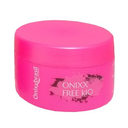 Mascara Onixx Free K10 250g  - para uma excelente fixação de progressivas ou colorações