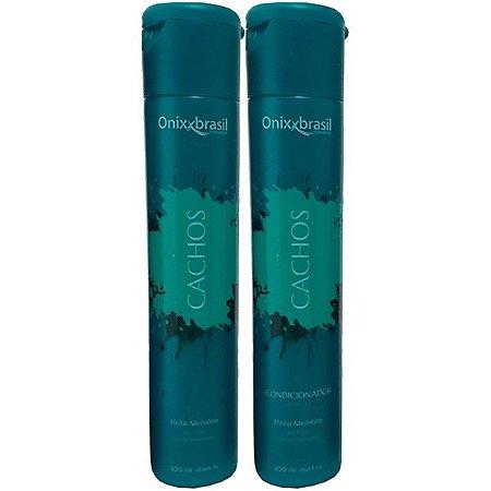Cachos 300 ml - Shampoo + Condicionador - realça e ativa os cachos