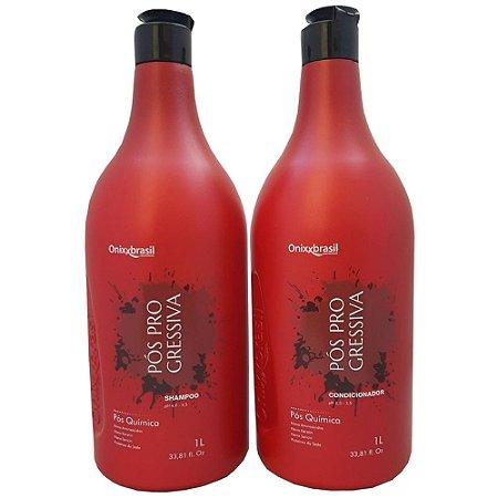 Shampoo + Condicionador Pós Progressiva Profissional 1L