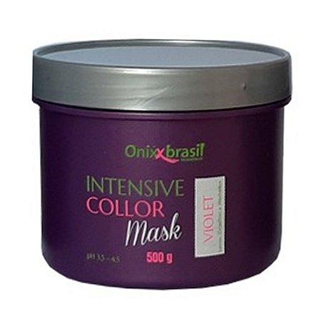 Intensive Collor mask violet 500g - para cabelos loiros, grisalhos e com mechas