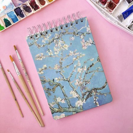 Sketchbook Amendoeira - Papel aquarela 250g