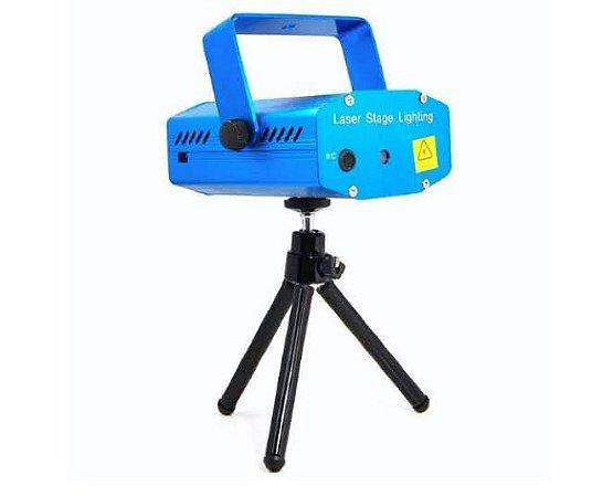 Mini Canhão De Luz Projetor Holográfico Laser -YL-09
